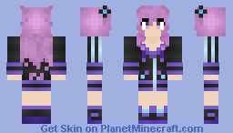 Adult Neptune - Megadimension Neptunia VII Minecraft Skin