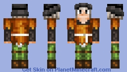 Hose and Garters Minecraft Skin