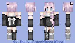 Sᴘɪʀɪᴛ | Pastel Goth (Galactical's Contest) Minecraft Skin