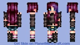 ~Rock~ Lyя (Oh popreel) Minecraft Skin