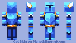 Shovel Knight Minecraft Skin