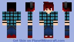 ~ Anime Boy ~ Minecraft Skin