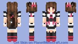 Chocola ~ NekoPara Minecraft Skin