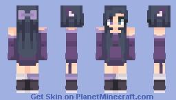 ƁℓυєAηgєℓ ~ Violet Remake Minecraft Skin