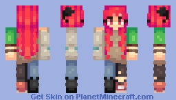What do you get when you cross a joke with a rhetorical question? Minecraft Skin