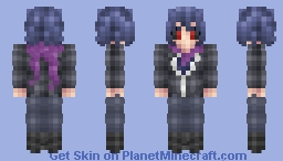 Ayato Kirishima [Tokyo Ghoul] Minecraft Skin