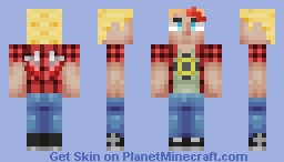 Fallen Angel | Chron OC 3-way skin battle Minecraft Skin