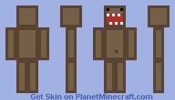 Domo Kun Minecraft Skin