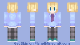Anime was a mistake Minecraft Skin