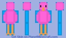 Flamingo Minecraft Skin