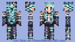 ~Hair shading test~ Lyя Minecraft Skin