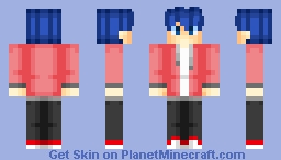 Dante (My Version) ~ MC My Street Minecraft Skin