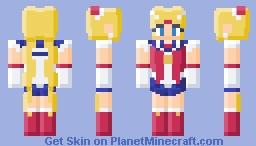 Plastic Sailor Moon Minecraft Skin