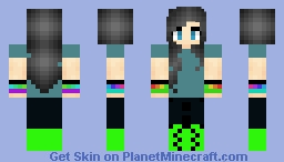 My First skin i ever made Minecraft Skin