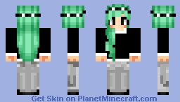 For my friend ThatHippo! Minecraft Skin