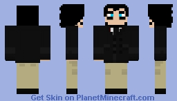 DECIMAL - Nash A. Keburu (Personal Skin) Minecraft Skin