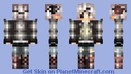 ~Skin trade with Rogue Ousoku/No I'm not dead~ Lyя Minecraft Skin