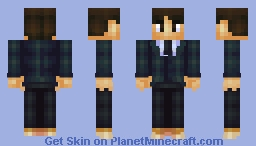 Old personal skin remake V3 (looks like my last shading update) Minecraft Skin