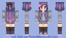 ☾ ☆ We'll Stagger Home After Midnight ☆ ☽ Minecraft Skin