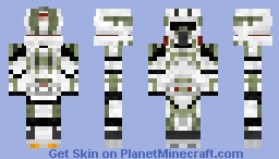 Advanced Recon Force Arf Trooper Minecraft Skin