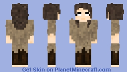 Game of Thrones ♕ Arya Stark ♕ Outfit: One Minecraft