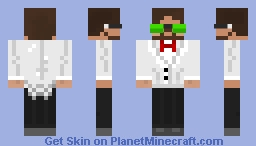 Buggs in a Suit Minecraft Skin