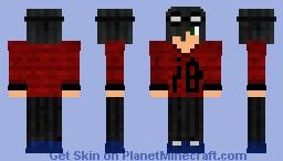 My OC- Bwave Minecraft Skin