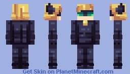 Miraculous Ladybug: Chat Noir Minecraft Skin