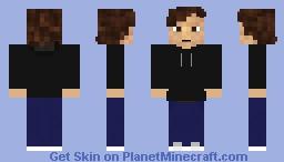 Guy in a hoodie Minecraft Skin