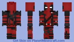 Deadpool Movie Skin | By Me :D Minecraft Skin