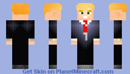 [1.8+] Donald Trump V2 Minecraft Skin