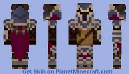 Dragonslayer Pantheon  ~League of Legends~ Minecraft Skin
