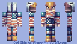 Eaglemerican Minecraft Skin