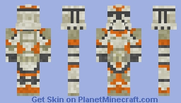 Utapau Clone Trooper STAR WARS III ORDER 66 Minecraft