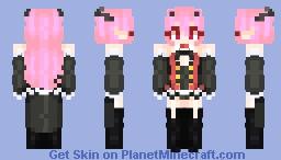 Krul Tepes - Owari no Seraph Minecraft Skin
