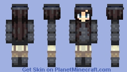 Makeup tip: You're not in the circus. {Blinque Fanskin} Minecraft Skin