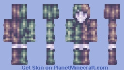 double-sided Minecraft Skin