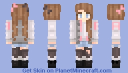 Pastel Girl Minecraft Skin