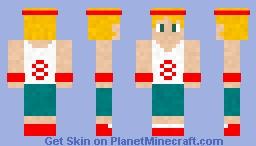 Sports Series: Basketball Boy Minecraft Skin