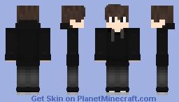 Boy with sweater Minecraft Skin