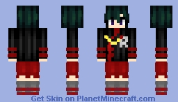 Lenalee Lee (D.Gray-Man)  _!Non!_ Minecraft Skin