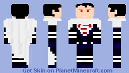 Lord Superman (Justice Lords) Minecraft Skin