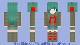 Been quite a while, hasn't it?~ Minecraft Skin