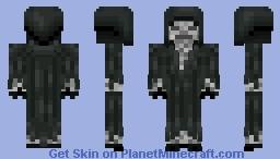Shadow Skeleton Minecraft Skin