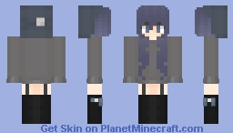 Washed Out Minecraft Skin