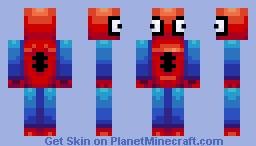 Spooderman! Minecraft Skin