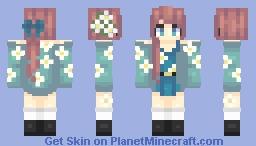💮   daisy, daisy (popreel) Minecraft Skin