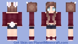 Bunny Girl ~ Animal Series Minecraft Skin