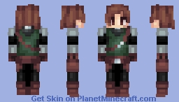 Female Armor (Swordswoman) [Better in 3D] Minecraft Skin
