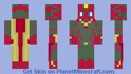 The Vision Minecraft Skin